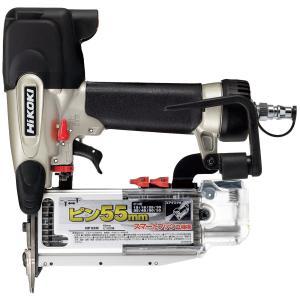 日立工機 ピン釘打機  NP55M  (回転式大形フック付+エアダスタ付) |newstagetools