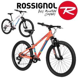 55a9772c476 【ROSSIGNOL】ロシニョール ALL TRACK 24 マウンテンバイク 自転車 子供用 ジュニア Mountain Bike トレイル ...