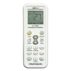 Hanwha / K-1028E 国内外 合計1000種類のエアコンコードを内蔵した エアコン用 ユ...