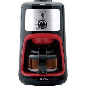 アイリスオーヤマ コーヒーメーカー 全自動 メッシュフィルター付き 1~4杯用 ブラック IAC-A600|newwaveshop