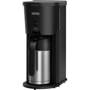 サーモス 真空断熱ポットコーヒーメーカー 0.63L ブラック ECJ-700 BK|newwaveshop