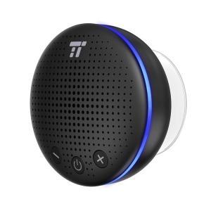 TaoTronics 防水 スピーカー bluetooth IPX7 防水防塵 LEDライト付 風呂...