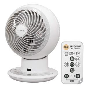 アイリスオーヤマ サーキュレーター アイ 静音 上下左右首振り 24畳 パワフル送風 DCモーター リモコン付き ホワイト 2019年モデル PCF-SDC15T|newwaveshop