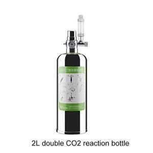 Decdeal co2 ボンベ CO2ジェネレーター 水族館DIY用 発酵式CO2キット バブルカウント付き 水族館用品 水槽・水族館・魚タンク・水生植物成長用 newwaveshop