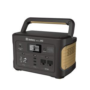 【Jackery Tuned by JVC】 ポータブル電源 大容量174000mAh/626Wh 家庭用蓄電池 AC(500W 瞬間最大1000W)/DC/USB出力 液晶大画面表示 車中泊 キャンプ アウトドア newwaveshop