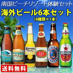 送料無料 南国ビーチリゾート体験セット 海外ビール 6本セット (北海道・沖縄+890円) 海外ビール 輸入ビール|newyork-beer