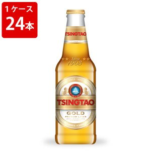ケース販売 青島 プレミアムビール 296ml 瓶(1ケース/24本) 海外ビール 輸入ビール|newyork-beer