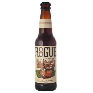 ローグ ヘーゼルナッツ ブラウン 355ml 瓶(単品/1本) 海外ビール 輸入ビール|newyork-beer