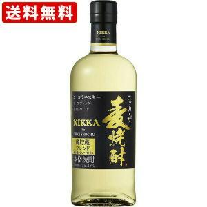 お酒  送料無料 ニッカ・ザ・麦焼酎 25度 瓶 700ml(北海道・沖縄+890円)