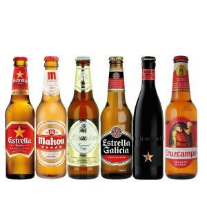 父の日 お酒 ギフト 送料無料 海外ビールセット スペインビール6本セット (北海道・沖縄+890円...