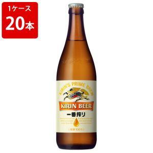 お酒  キリン 一番搾り 中瓶 500ml(1ケース/20本入り/P箱付き)|newyork19892005