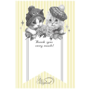 "【NBC-1】postcard1-nisikuboharumi""Thank you""|next-cmk"