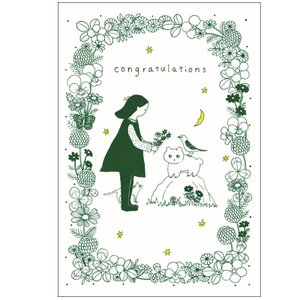 "【NBC-1】postcard2-saitotomoko""Congratulations"" next-cmk"