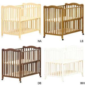 ベビーベッド (anesis アネシスベビーベッド) bed/赤ちゃん用/すのこ床板/ハイタイプ/収納板付き|next-life-style