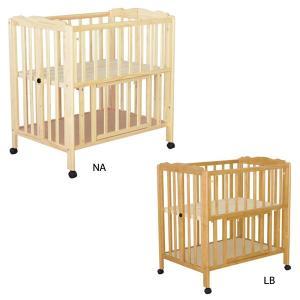 ベビーベッド (pattan パタン折りたたみ ミニベビーベッド) bed/赤ちゃん用/すのこ床板/ハイタイプ/収納板付き|next-life-style