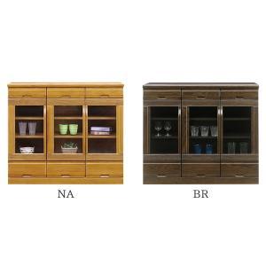 食器棚 (サファリ 110サイドボード)幅108cm 選べる2色 木製|next-life-style