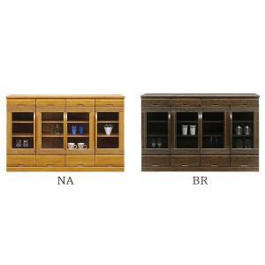 食器棚 (サファリ 145サイドボード)幅144cm 選べる2色 木製|next-life-style