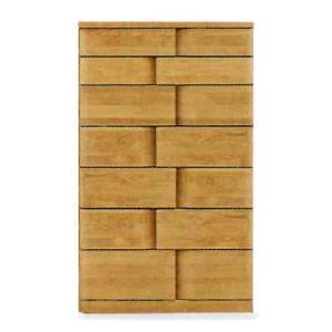 受注生産 ハイチェスト 木製 たんす タンス 箪笥 7段 (ハート 75-7段 ハイチェスト) モダン/おしゃれ/収納家具