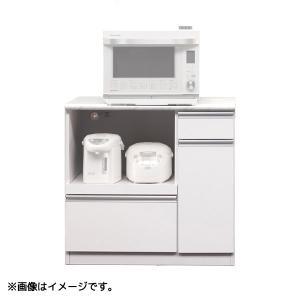 食器棚 (カラー90オープンカウンター) 幅89.3 収納棚 キッチン収納 台所棚 next-life-style