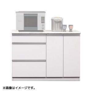食器棚 (カラー120カウンター) 幅118.8 収納棚 キッチン収納 台所棚 next-life-style