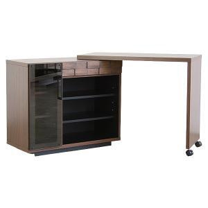 COLK 国産 コルク キッチンデスク 凸凹デザインが特徴的 ワークデスクとしても使用可 デスク 机 収納 ラック|next-life-style