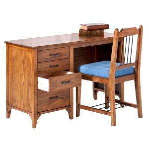 デスクセット (MP-309/MP-303) デスク チェア セット 机 書斎デスク 椅子 イス 112cm幅 学習机 PCデスク 天然木 勉強机 学習デスク オフィスデスク desk|next-life-style