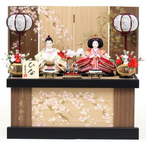 雛人形 ひな人形 衣裳着 衣裳着人形 ひな祭り カラー (松竹梅セット) (752S20) 数量限定