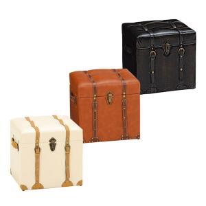 収納スツール (CHESTER) 40幅 チェア MC-6000IV/MC-6000DBR/MC-6000LBR 3色対応 40cm 収納家具 チェスター|next-life-style