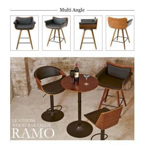 KNC-J010 バーチェア RAMO(ラーモ) PU/椅子/チェア/バーチェア/おしゃれ/インテリア家具|next-life-style|07