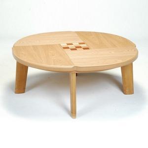 こたつ 円形 こたつテーブル こたつ本体 おしゃれ フローラル 100|next-life-style