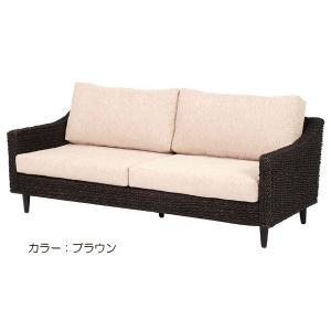 アジアンテイスト ソファー グランツ 3Pソファ RL-1440BR-3C RL-1440NA-3C 3人掛け low-sofa|next-life-style