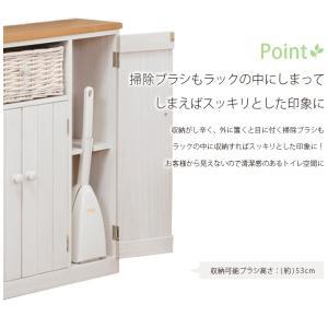 トイレラック wood products MTR-6459 50ラック 50幅 50cm ナチュラル清潔感 トイレ収納 かご 収納 ウッドプロダクツ next-life-style 07