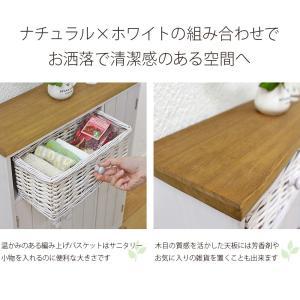 トイレラック wood products MTR-6459 50ラック 50幅 50cm ナチュラル清潔感 トイレ収納 かご 収納 ウッドプロダクツ next-life-style 09