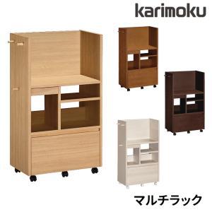 カリモク 学習机 マルチラック 共通アイテム SS0429 学用品収納に便利 ランドセルラック リビング学習/学習デスク用 karimokuの写真