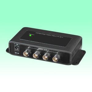 防犯カメラ 映像分配器 1入力4分配器 【AHD対応】|nextage