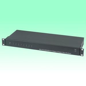 防犯カメラ 映像分配器 8入力16分配器 【AHD対応】|nextage