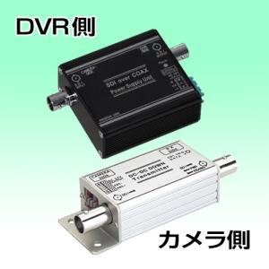 防犯カメラ HD-SDI 電源供給用 送受信機セット(1CH) nextage