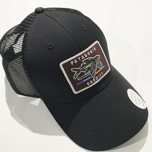 Patagonia(パタゴニア)SHOP ONLY Trucker Hat カーディフ店限定メッシュキャップ ブラック 38231-blk  f2a2c4e4992b