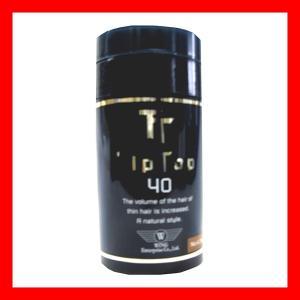 ティップトップ40 40g ダークグレー 振るだけ瞬間薄毛ケア 高品質な特殊繊維 プロ用美容室専門店|nextbeauty