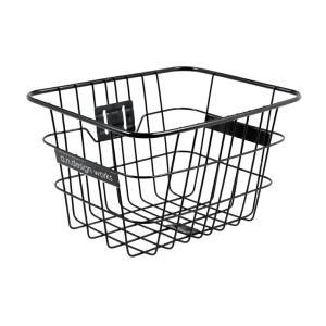 自転車 バスケット a.n.d パイプワイヤーバスケット ブラック シティ・タウンサイクル用 a.n.design works|nextbike