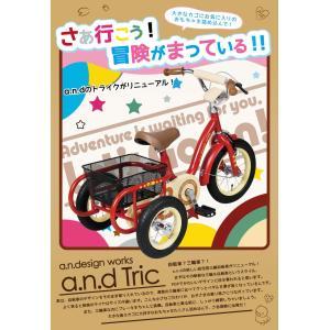自転車 三輪車 子供 男の子 女の子  a.n.d TRIC トライク a.n.design works カンタン組立|nextbike|05
