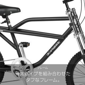 10%OFFクーポン!カギ&ライトプレゼント  a.n.design works  Baboon バブーン Caringbah 自転車 20インチ 6段変速 BMX 前後 フルサスペンション カンタン組立|nextbike|12