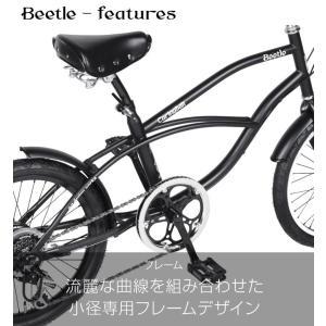 自転車 ビーチクルーザー 20インチ Beetle ビートル Caringbah a.n.design works 99%組立 nextbike 03