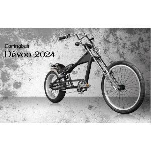 最大6000円OFFクーポン チョッパーバイク ビーチクルーザー 自転車 ファットバイク a.n.design works Caringbah Devoo2024 完全組立済 送料無料|nextbike|02