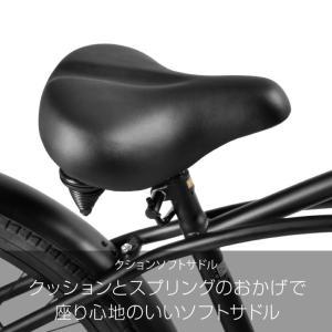 a.n.design works  CB26BC Caringbah ビーチクルーザー 26インチ 本体 自転車 街乗り ストリート 99%組立 nextbike 04