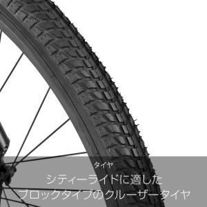 a.n.design works  CB26BC Caringbah ビーチクルーザー 26インチ 本体 自転車 街乗り ストリート 99%組立 nextbike 05