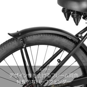 a.n.design works  CB26BC Caringbah ビーチクルーザー 26インチ 本体 自転車 街乗り ストリート 99%組立 nextbike 07