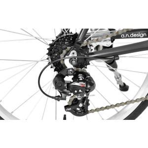 アウトレット a.n.design works  CDR214AL ミニベロ ロード 20インチ 自転車 本体 14段変速 カンタン組立|nextbike|09
