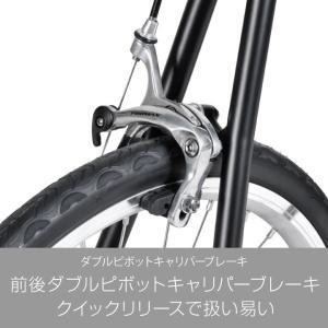 ミニベロ ロード 20インチ 自転車 本体 16段変速 シマノ CDR216 a.n.design works アウトレット カンタン組立|nextbike|10