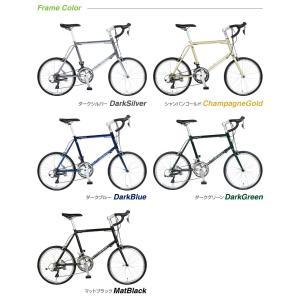 ミニベロ ロード 20インチ 自転車 本体 16段変速 シマノ CDR216 a.n.design works アウトレット カンタン組立|nextbike|02